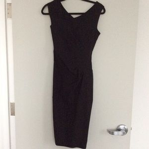 Size small black midi dress